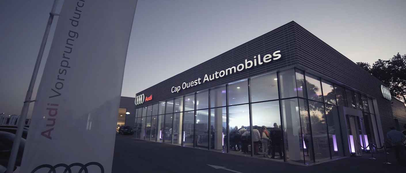 Teaser inauguration Audi